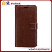 Leather wallet mobile phone case for one plus two case, leather wallet cell phone case