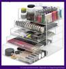 Transparent Acrylic Makeup Organizer with Drawers