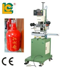 Wine bottle hot heat press foil stamping machine price TC-250K