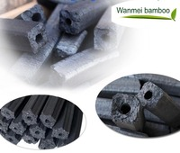 Machine-made smokeless bamboo charcoal for bbq