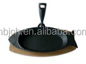 cast iron sizzler pan