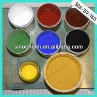 inorganic iron oxide pigment yellow for construction