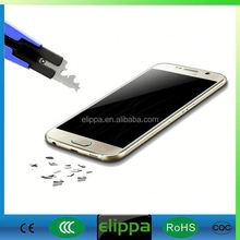 Elippa Hot-sale PET High Transparancy safeguard screen protector for Samsung Note 3/4/S5/S6
