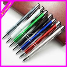 Good gift for girls advertising ball pen promotional cutom logo metal pen