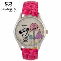 Latest fashion color diy cute small wrists beautiful design watch best girl office watch