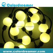 40mm 150mm pixel pitch floating waterproof led light ball