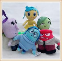 5pcs Set Inside Out Plush Cartoon Toys& Hobbies soft Doll Stuffed Movie TV