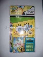 2013 Back to School 7pc Fun Stationery Set