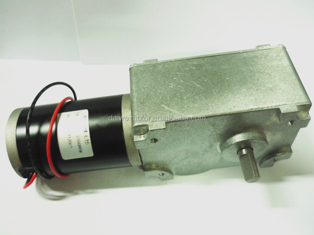 83rpm 24 Gear Motor Dc Gear Motor From Changzhou Daiwei
