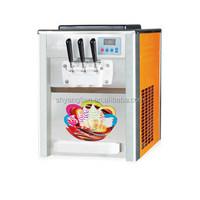 ICE CREAM MAKER Soft Serve Machine Makes Frozen Yogurt Frozen