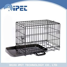Ipet solid display wire mesh pet crate kennel