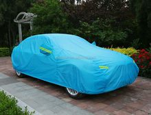 190T logo printing waterproof good car cover