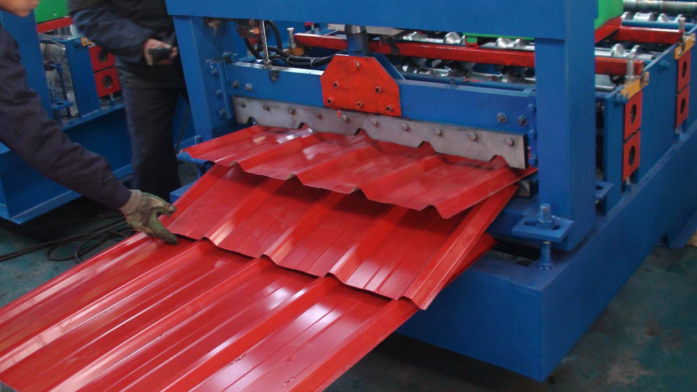Buy Roofing Sheets Machinery Prepainted Steel Ibr