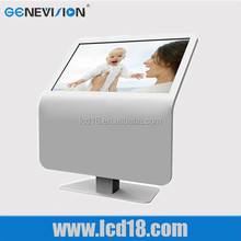 """Lcd Monitor Price 37"""" Super Thin Android 1080P Touch Media Player"""