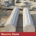decorativas gris ronda columna de granito