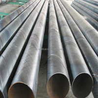 SSAW Spiral steel pipe and anticorrosion spiral round welded carbon steel pipe or tube
