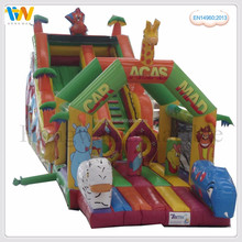 high quality cheap inflatable water slides indoor playground equipment water park slides for sale