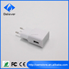 Hot Selling Good Quality Factory Price EU Plug Mobile Phone Wall Charger Full capacity 5V 2.1A for Samsung Galaxy