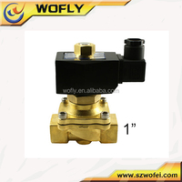 high quality normally closed 24v 1 inch water solenoid valve