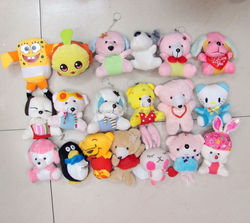 Various styles mixed dog plush toys
