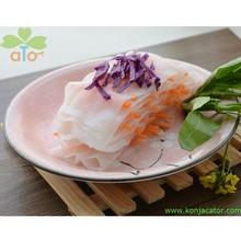 prevent fat- low calories low carb konjac noodles health food