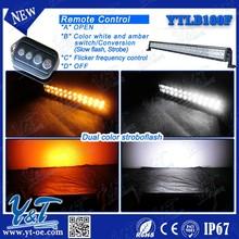 auxiliary 180w led work light bar color change 180w led flash strobe light bar