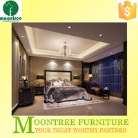 Moontree MBR-1355 2015 luxury french style bedroom furniture set for sale