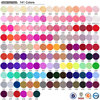 #50618J CANNI Pure UV Color Gel System,China CANNI Factory Thick Nail Art Design UV Gel,UV Gel Type Camouflage Bonding Gel