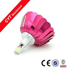 Built-in 15W 12V 6000K White LED Motorcycle lights Headlamp Auxiliary Fog lamp Motorcycle led Headlight/Red