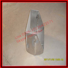 Stainless steel sow feeding trough