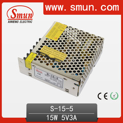 15W 5V 3A LED Power Supply For LED Strip and LED Light