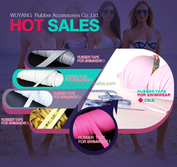 HOT sales rubber band for swimwear
