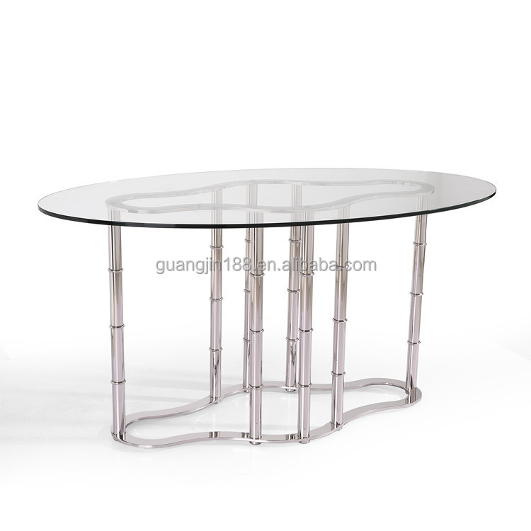 Modern Oval shaped Glass Dining Table Buy Oval shaped  : modern oval shaped glass dining table from alibaba.com size 750 x 750 jpeg 46kB