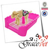 plastic pet toilet / dog training toilet / dog indoor toilet