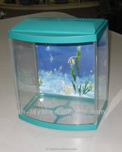 fancy fish tank 3mm glass