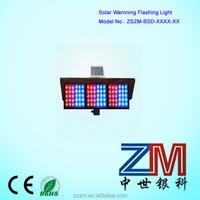 2014 new energy solar traffic strobe Warning Light flasher