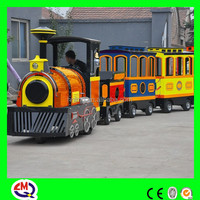 Amusement park rides electric trackless tourist train from China