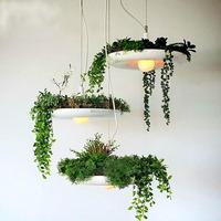 Decorative Pendant Lighting With FLowers Metal Shade LED Modern Babylon Pendant Lighting For Garden