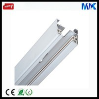 Aluminum Track 3.0M Silver 2 wires Guide Rail for Track Lights