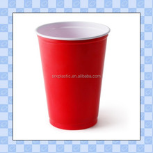 shenzhen maker custom cheap plastic cup/red shot 12oz cup for wholesale/OEM in factory price 12oz red shot cup manufacturer
