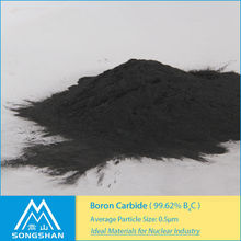 China Henan absorbent for neutron radiation product | 99.62% Nuclear B4C Powder