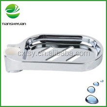 ABS chrome soap dish cheap soap dish drain soap dish for shower rail