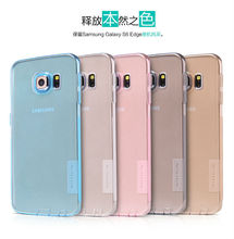 Factory price Nillkin Natural color perfect fit case Protective cover for Samsung S6