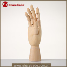 Wooden Mannequin Hand, Wooden Hand, Female Real Wooden Hand Display