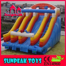 WL-1813 2015 New Design Giant Inflatable Water Side,Inflatable Pool Water Slide For Adult Inflatable Water Slide
