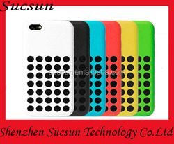 Dot silicone case cover for Apple iPhone 5/5s/5c/6/6plus with retail package