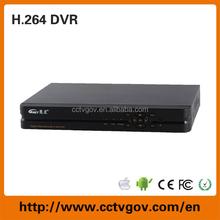 H.264 8CH Embedded linux cctv network DVR surveillance software