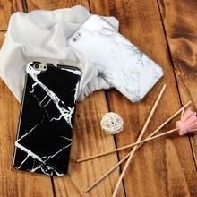 mobile phone cover,for iphone 6 case,marble cell phone case black cover