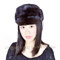 CX-C-108A Unisex Fashion 2014 Genuine Mink Fur Animal Hat