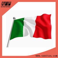 2015 Top quality China Manufacturer Polyester red white green flag